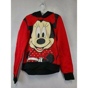 Disney Girls Sweatshirt Size M Red Long Sleeve Top